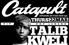 Talib Kweli @ Catapult (Cardiff)
