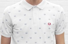 Fred Perry Authentic Laurel Wreath Printed Polo