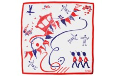 Drake's London Jubilee Handkerchief