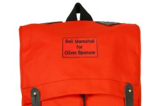 Seil Marschall for Oliver Spencer 'Mini Canoe Pack'