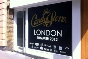 The Candy Store London Announcement