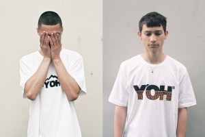 Y'OH SS12 T-shirt collection