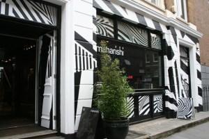 New Maharishi London store front