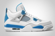 Air Jordan IV 'Military Blue' Retro 2012