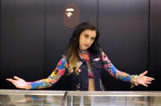 Recap: Bape x Kreayshawn In-store Listening Party