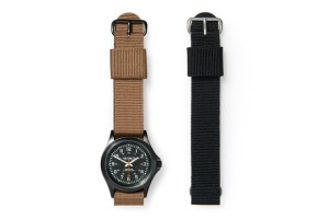 Carhartt Military Watch (Black/Brown)
