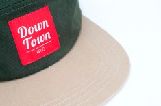 Downtown NY 5 Panel Caps