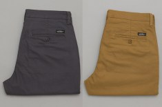 Lee Brooklyn Chinos (Charcoal & Antique Bronze)