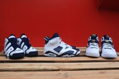 Nike Basketball Olympic Collection – Air Force 180, Air Jordan VI & Air Uptempo