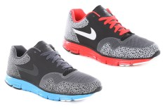 Nike Lunar Safari Fuse+ (Black/Anthracite & Black/Bright Crimson)