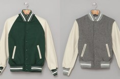 Golden Bear Raglan Wool Varsity Jackets