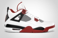 Nike Air Jordan 4 2012 Retro (White/Fire Red)