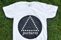Pictures Music logo t-shirt