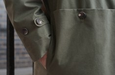 S.E.H Kelly Ventile Mac (Charcoal / Dark Green)