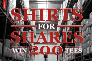 Win 200 blank t-shirts from Fanshirt