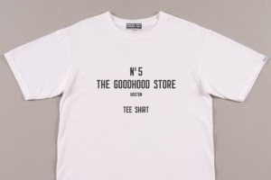 Goodhood 5th anniversary T-shirts & homeware