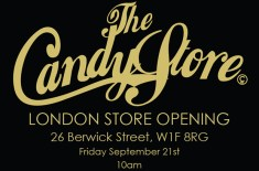 The Candy Store London Opening