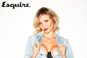 Cameron Diaz by Terry Richardson for Esquire UK