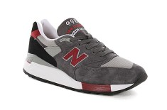 New Balance M998 Made In USA (Grey/Red)