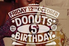 Donuts Fifth Birthday ft. Dâm-Funk