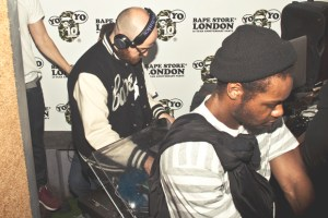 Recap: Bape London's 10th Anniversary with YOYO and Joey Bada$$