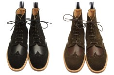 Oliver Spencer Brogue Boot (Black & Brown)