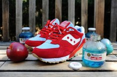 "BAIT x PYS x Saucony Originals Shadow 6000 ""Blue Apple"" (UK release info)"