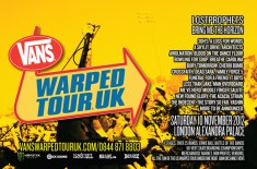 Vans Warped Tour Returns to the UK