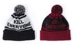 indcsn 'Kill Everyone' beanies