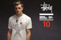 Stüssy x Mark Ward x Urban Industry 10 Year Anniversary T-shirt