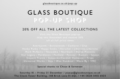 Glass Boutique Pop-Up Shop