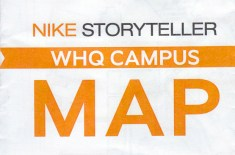 Nike Storyteller WHQ Campus Map 2012