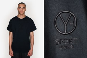 Y'OH Sport Black on Black Lux Tee