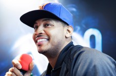 Carmelo Anthony of the NY Knicks talks about his new Jordan Melo M9 shoe