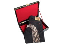 EVISU 'Year of the Snake' Gold Edition Denim