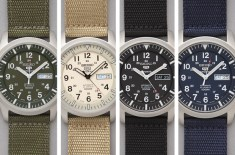 Seiko 5 Series Made in Japan Military Watches