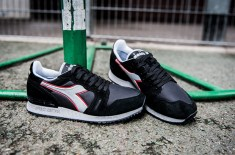 Diadora 'Heroes' (Black & Rock Grey)