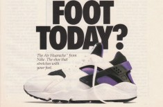 Original 1992 Nike Air Huarache Advert