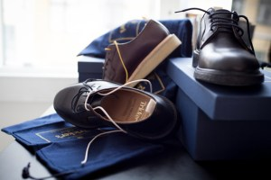 Tricker's for Norse Projects Blucher Shoe