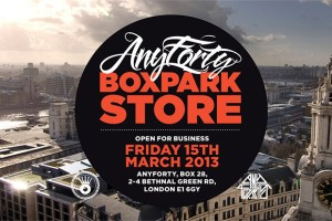 AnyForty Open Boxpark Store