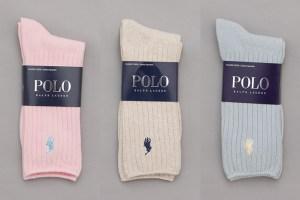 Polo Ralph Lauren Pastel Classic Crew Socks