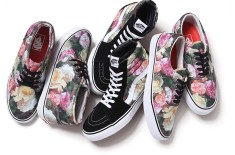 Supreme x Vans Rose Print Triple Pack
