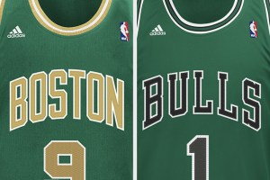 NBA St. Patrick's Day Jerseys (Celtics & Bulls)