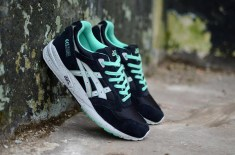 asics Gel Saga (Black/Spearmint)