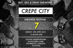 Crepe City 7 Sneaker Festival