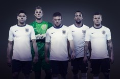 Nike announce first England football kit