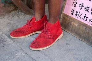 "Supreme x Clarks Originals ""Map Suede"" Desert Boots"