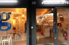 Guardian open #GuardianCoffee at Boxpark