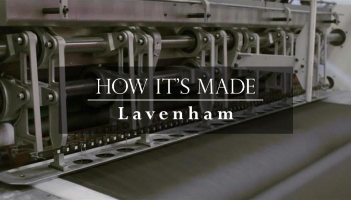 Video: How It's Made: Lavenham