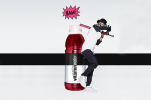 Trapstar Join New vitaminwater #shinebright Campaign
